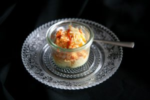 Butter mit Ingwerpüree und Piri-Piri