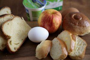 Zutaten für Ofenschlupfer