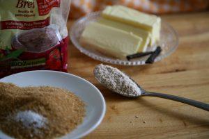Zutaten Hafermehl-Kekse