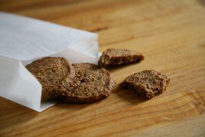 Hafermehl-Kekse für unterwegs