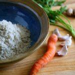Gewürz-Salz frische Zutaten