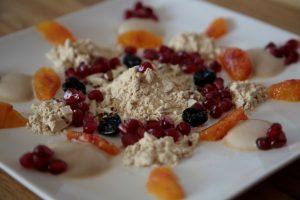 Zutaten für Gofio Frühstück