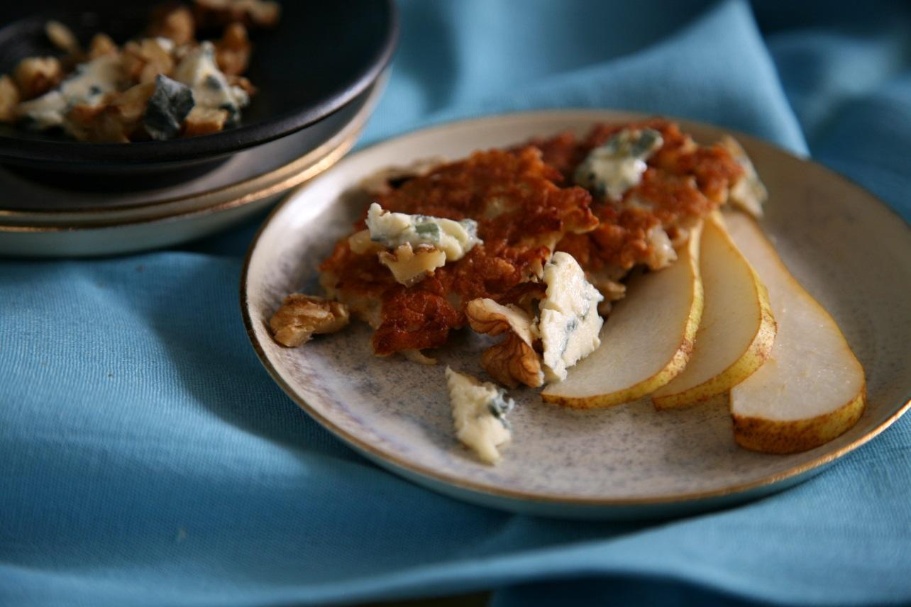 Birnen Käse Dessert
