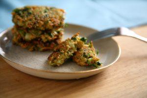 fertige Gemüse Haferflocken Küchlein