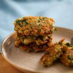 Gemüse Haferflocken Küchlein