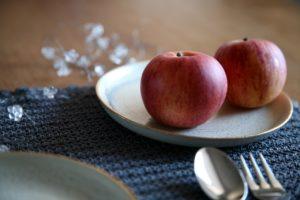 Quatre-Quart Äpfel